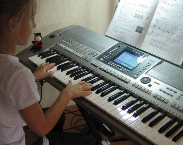 Musikunterricht in Erkelenz