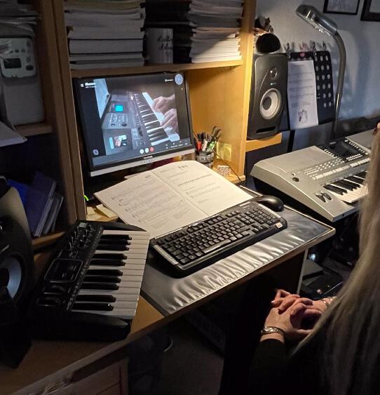 Online-Musikunterricht Erkelenz